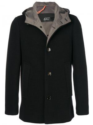 Пальто с капюшоном Rrd. Цвет: синий