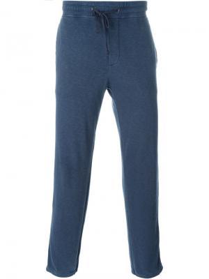 Спортивные брюки James Perse. Цвет: синий