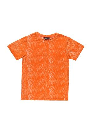 Футболка Luminoso. Цвет: оранжевый