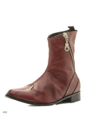 Ботинки Pixy. Цвет: бордовый