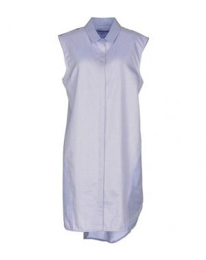 Короткое платье RICHARD NICOLL. Цвет: синий