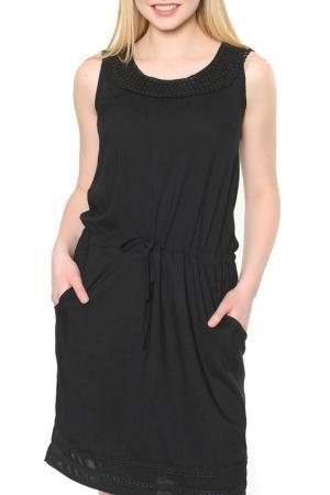 Платье Dewberry. Цвет: black