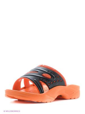 Шлепанцы Дюна. Цвет: коралловый, оранжевый