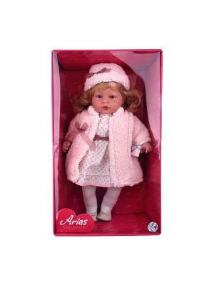 Кукла Arias  в розовом пальто Elegance, 50 см Arias.. Цвет: розовый