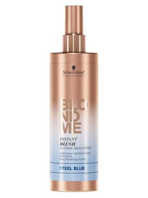 BlondMe Instnt Blush Оттеночный спрей для волос Сталь, 250 мл Schwarzkopf Professional. Цвет: голубой