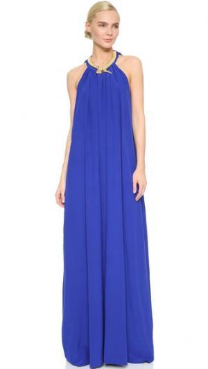 Платье Leto Elena Makri. Цвет: синий