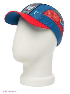 Бейсболка Maxval. Цвет: синий, серый, красный
