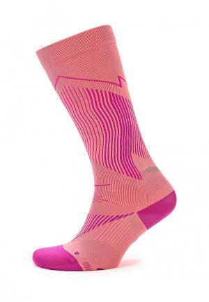 Гольфы Nike. Цвет: розовый
