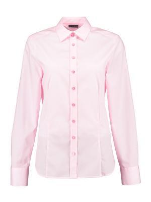 Рубашка Eterna. Цвет: розовый