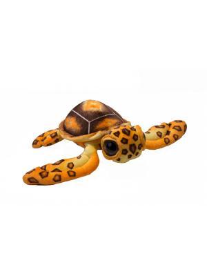 Мягкая игрушка Черепаха большеглазая большая, 60 АБВГДЕЙКА. Цвет: коричневый
