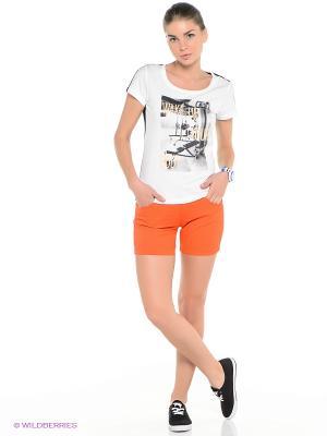 Шорты ANTA. Цвет: оранжевый