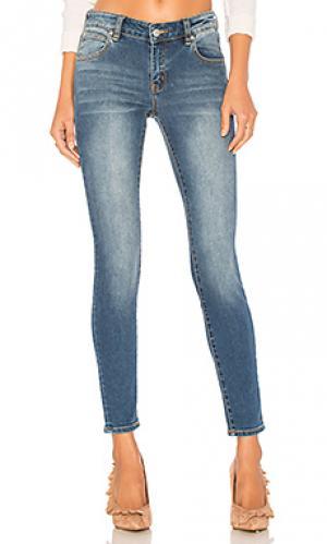 Скинни джинсы до лодыжек breakers ROLLAS ROLLA'S. Цвет: none
