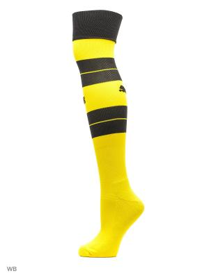 Гетры  BVB Hooped Socks Puma. Цвет: желтый
