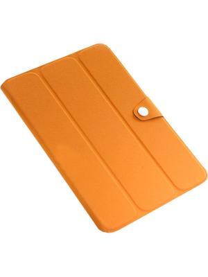 Обложка skinBOX slim для планшета Samsung Galaxy Note N8000/8010/8020.. Цвет: оранжевый