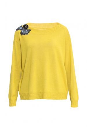 Джемпер 153047 Andrea Turchi. Цвет: желтый