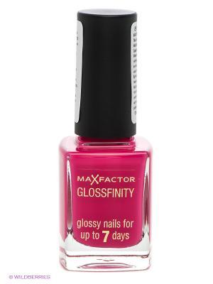 Лак Для Ногтей Glossfinity, тон 120 MAX FACTOR. Цвет: малиновый