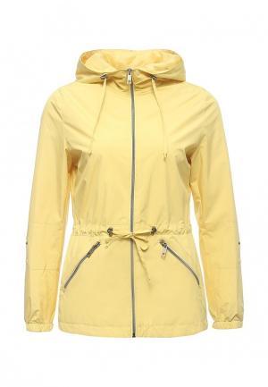 Куртка Grishko. Цвет: желтый
