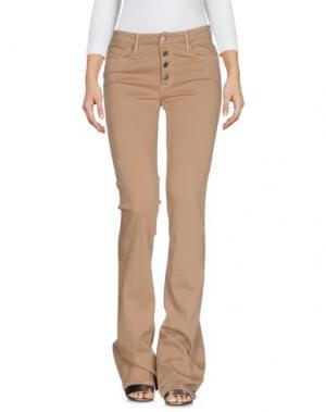 Джинсовые брюки BLACK ORCHID. Цвет: коричневый