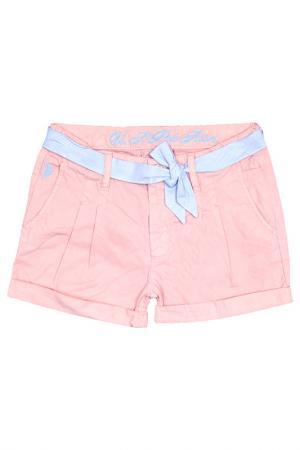 Шорты U.S. Polo Assn.. Цвет: 930 розовый