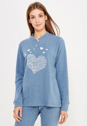 Рубашка домашняя Perfect J. Цвет: синий