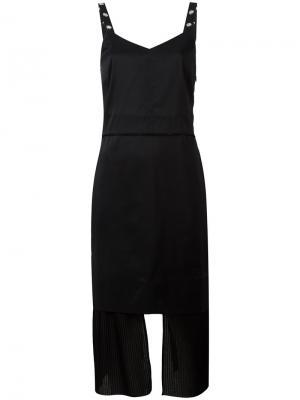 Under panel pleated dress Aalto. Цвет: чёрный