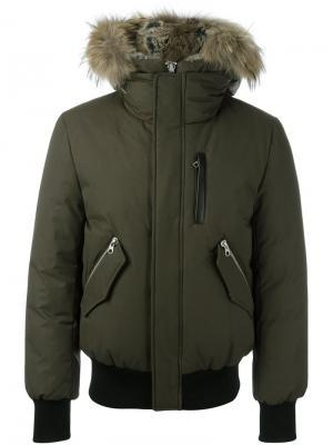 Куртка Dixon Mackage. Цвет: зелёный
