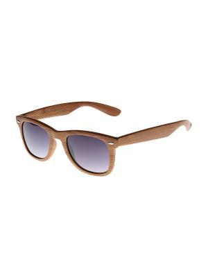 Солнцезащитные очки Gusachi. Цвет: коричневый, серый