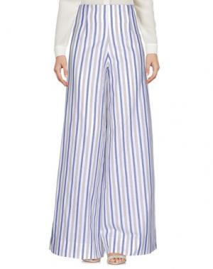 Повседневные брюки CRISTINA ROCCA. Цвет: серый