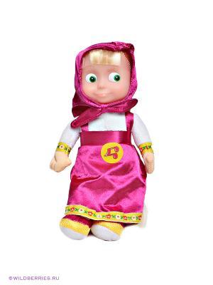 Мягкая игрушка Маша, 22 см. Мульти-пульти. Цвет: фиолетовый