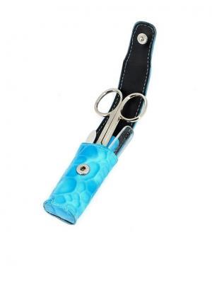 Маникюрный набор GD. Цвет: голубой