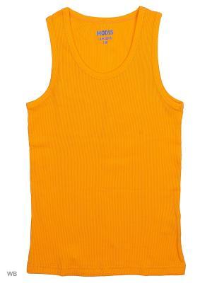 Майка Modis. Цвет: оранжевый