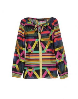 Блузка CUSTO BARCELONA. Цвет: желтый