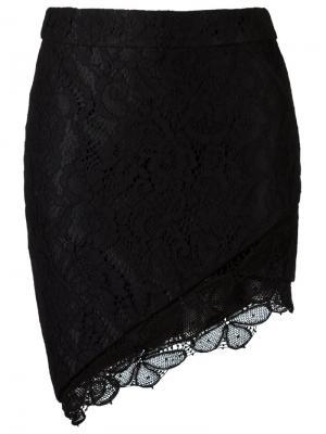 Lace skirt Martha Medeiros. Цвет: чёрный