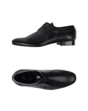 Обувь на шнурках MARIO LUISO. Цвет: черный