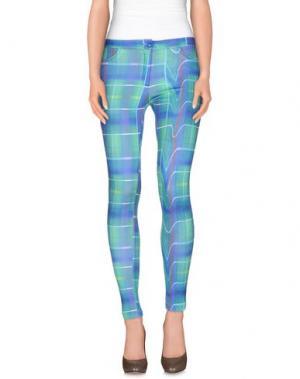 Повседневные брюки TEE-TREND. Цвет: лазурный