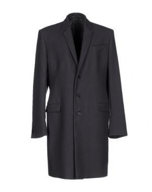 Пальто EXTE. Цвет: стальной серый