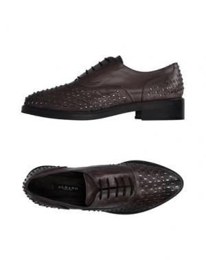 Обувь на шнурках ALBANO. Цвет: свинцово-серый