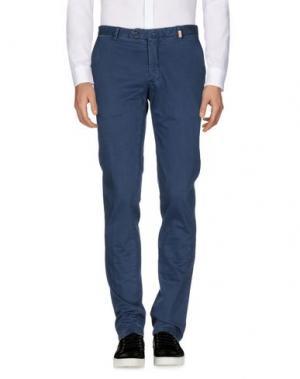 Повседневные брюки GIO ZUBON. Цвет: пастельно-синий