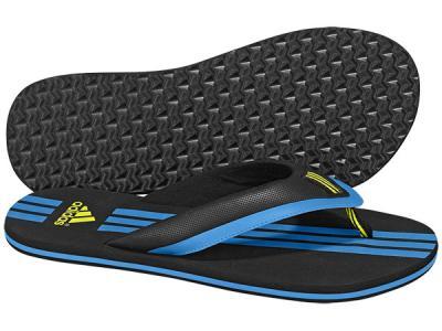 Вьетнамки Adidas. Цвет: синий, черный