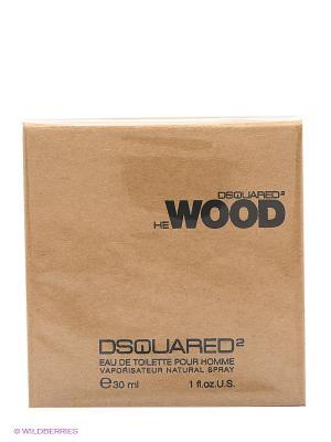 Туалетная вода He Wood, 30 мл Dsquared. Цвет: коричневый