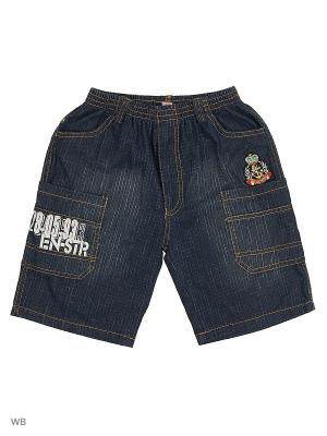 Шорты джинсовые Kidly. Цвет: синий