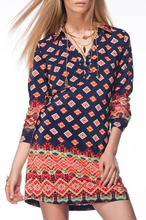 Платье Milla by trendyol. Цвет: мультицвет