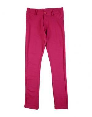 Повседневные брюки FUN &. Цвет: фуксия