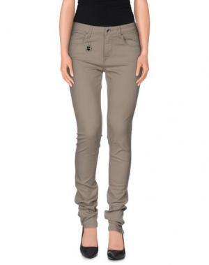 Повседневные брюки COSTUME NEMUTSO. Цвет: серый