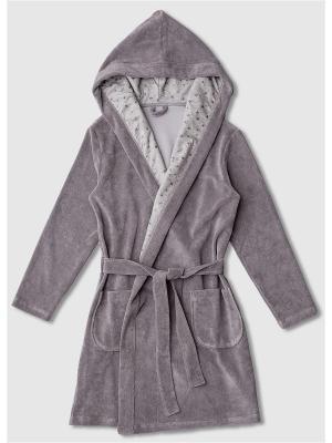 Халаты Extreme Intimo. Цвет: серый