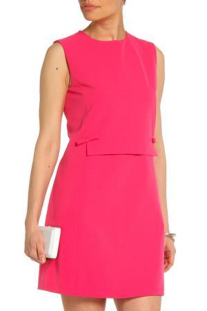 Коктейльное платье средней длинны La Reine Blanche. Цвет: розовый