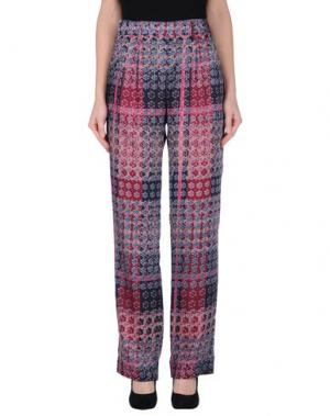 Повседневные брюки THAKOON ADDITION. Цвет: темно-фиолетовый