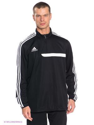 Спортивная толстовка Tiro13 Adidas. Цвет: черный, белый
