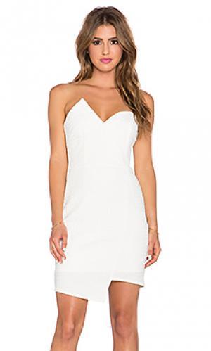 Платье modern mini malist Lumier. Цвет: белый