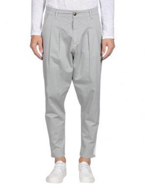 Повседневные брюки MINIMAL. Цвет: серый